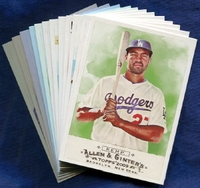 2009 Topps Allen and Ginter Los Angeles Dodgers Baseball Card Team Set