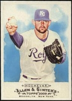 2009 Topps Allen and Ginter Luke Hochevar Baseball Card