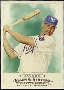 2009 Topps Allen and Ginter Mike Jacobs Baseball Card