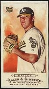 2009 Topps Allen and Ginter Mini A and G Back Andrew Bailey Baseball Card