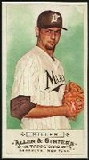 2009 Topps Allen and Ginter Mini A and G Back Andrew Miller Baseball Card