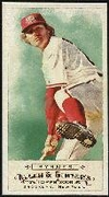 2009 Topps Allen and Ginter Mini A and G Back Eric Byrnes Baseball Card