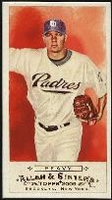 2009 Topps Allen and Ginter Mini A and G Back Jake Peavy Baseball Card