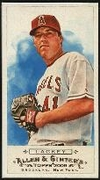 2009 Topps Allen and Ginter Mini A and G Back John Lackey Baseball Card