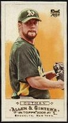 2009 Topps Allen and Ginter Mini A and G Back Josh Outman Baseball Card