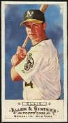 2009 Topps Allen and Ginter Mini A and G Back Mark Ellis Baseball Card