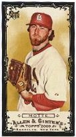 2009 Topps Allen and Ginter Mini Black Jason Motte Baseball Card