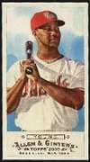2009 Topps Allen and Ginter Mini Chris Young Baseball Card