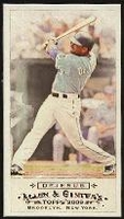 2009 Topps Allen and Ginter Mini David DeJesus Baseball Card