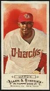 2009 Topps Allen and Ginter Mini Justin Upton Baseball Card