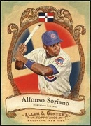 2009 Topps Allen and Ginter National Pride Alfonso Soriano Baseball Card