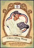 2009 Topps Allen and Ginter National Pride Chien-Ming Wang Baseball Card