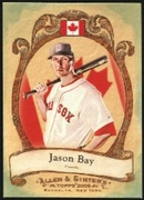 2009 Topps Allen and Ginter National Pride Jason Bay Baseball Card