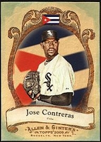 2009 Topps Allen and Ginter National Pride Jose Contreras Baseball Card