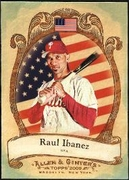 2009 Topps Allen and Ginter National Pride Raul Ibanez Baseball Card