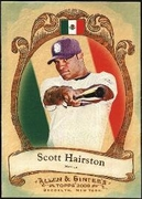 2009 Topps Allen and Ginter National Pride Scott Hairston Baseball Card