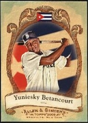 2009 Topps Allen and Ginter National Pride Yuniesky Betancourt Baseball Card