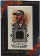2009 Topps Allen and Ginter Relics Vernon Wells Game-Worn Jersey Baseball Card