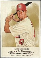 2009 Topps Allen and Ginter Ryan Ludwick Baseball Card
