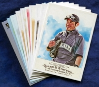 2009 Topps Allen and Ginter Seattle Mariners Baseball Card Team Set