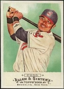 2009 Topps Allen and Ginter Shin-Soo Choo Baseball Card