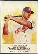 2009 Topps Allen and Ginter Travis Hafner Baseball Card