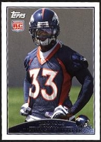 2009 Topps Alphonso Smith Rookie NFL Football Card