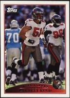 2009 Topps Barrett Ruud NFL Football Card