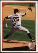 2009 Topps Barry Zito Baseball Card