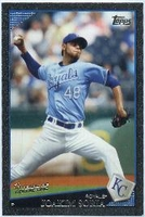 2009 Topps Black Joakim Soria Baseball Card
