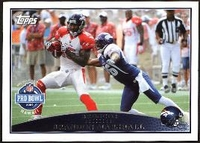 2009 Topps Brandon Marshall Pro Bowl NFL Football Card