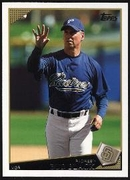 2009 Topps Bud Black Manager Baseball Card