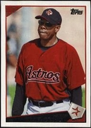 2009 Topps Cecil Cooper Astros Manager Baseball Card