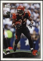 2009 Topps Cedric Benson NFL Football Card