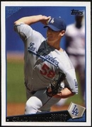 2009 Topps Chad Billingsley Baseball Card