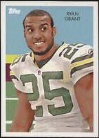 2009 Topps Chicle Ryan Grant NFL Football Card