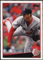 2009 Topps Chris Carpenter Baseball Card