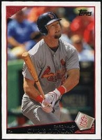 2009 Topps Chris Duncan Baseball Card