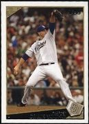 2009 Topps Chris Young Baseball Card