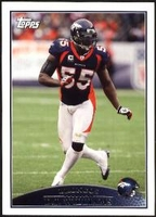 2009 Topps D.J. Williams NFL Football Card