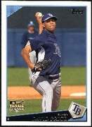 2009 Topps David Price Rookie Baseball Card