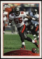 2009 Topps Derrick Brooks NFL Football Card