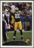 2009 Topps Donald Driver NFL Football Card