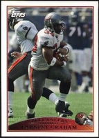 2009 Topps Earnest Graham NFL Football Card