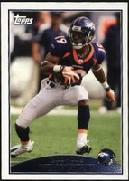2009 Topps Eddie Royal NFL Football Card