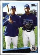 2009 Topps Evan Longoria & David Price  Classic Combos Baseball Card