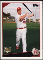 2009 Topps Factory Set Rookie Bonus David Freese Baseball Card