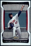 2009 Topps Finest Francisco Liriano Baseball Card