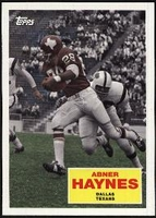 2009 Topps Flashback Abner Haynes Football Card