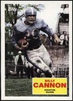 2009 Topps Flashback Billy Cannon Football Card
